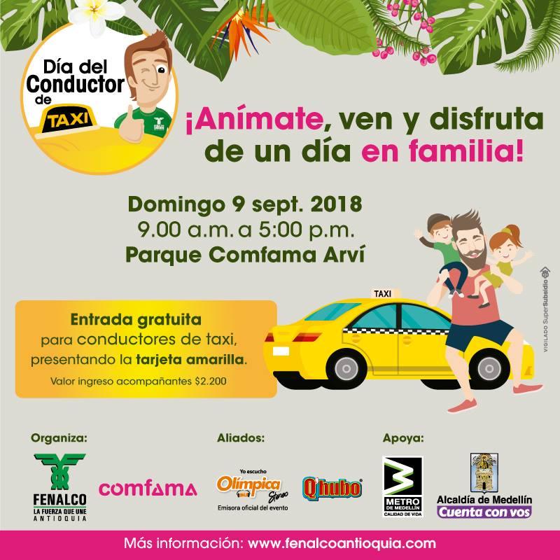 Flota Bernal Invitación Celebración Día Del Conductor De Taxi